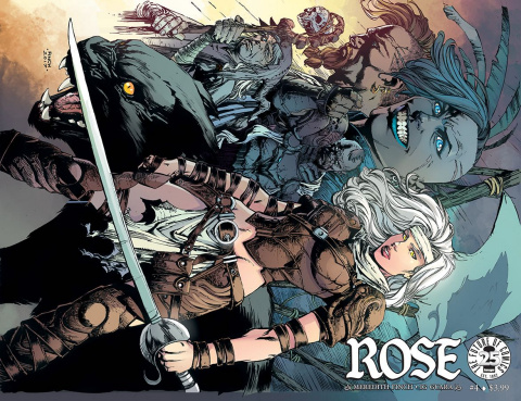 Rose #4 (Finch Cover)