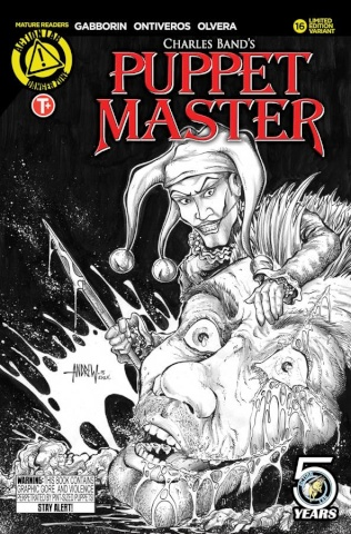 Puppet Master #16 (Mangum Sketch Kill Cover)