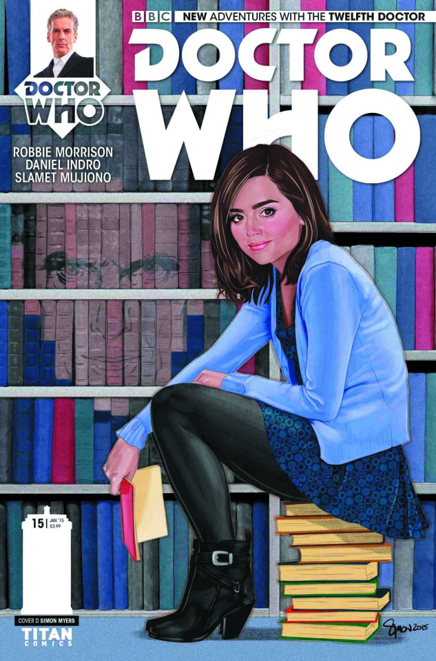 Doctor Who: New Adventures with the Twelfth Doctor #15 (Myers Cover)