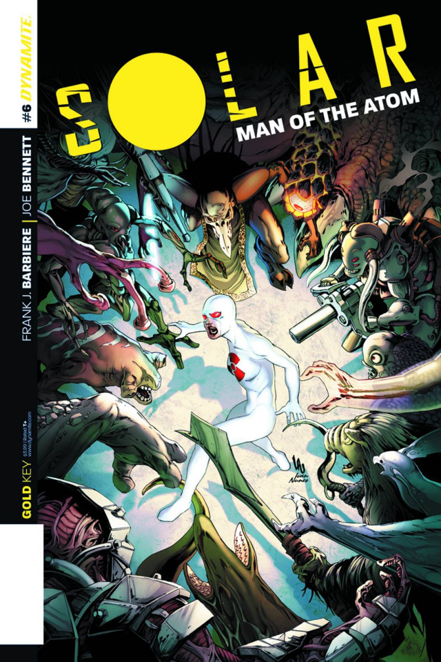 Solar: Man of the Atom #6 (Lau Subscription Cover)