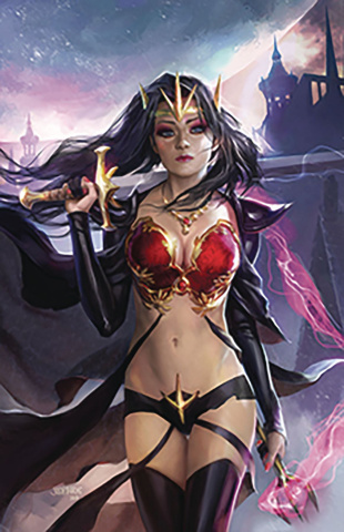 Grimm Fairy Tales #23 (Burns Cover)