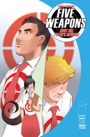 Five Weapons #6 (Robinson Cover)