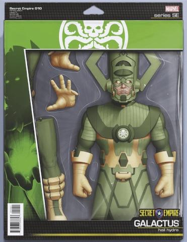 Secret Empire #10 (Christopher Action Figure Cover)