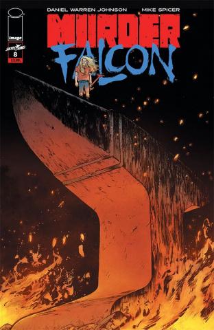 Murder Falcon #8 (Johnson & Spicer Cover)