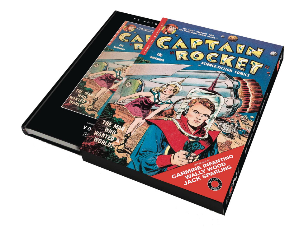 Classic Science Fiction Comics (Slipcase)