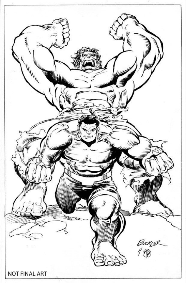 Totally Awesome Hulk #15 (Buckler Classic Cover)