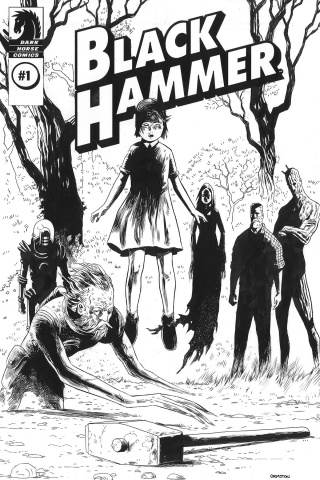 Black Hammer #1 (Director's Cut)