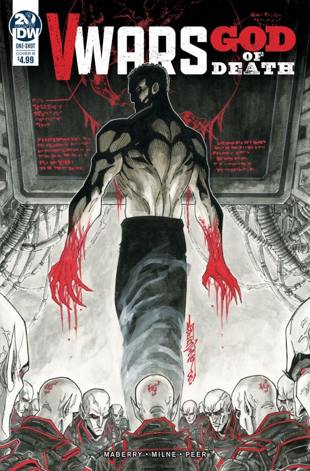 V-Wars: God of Death (Milne Cover)