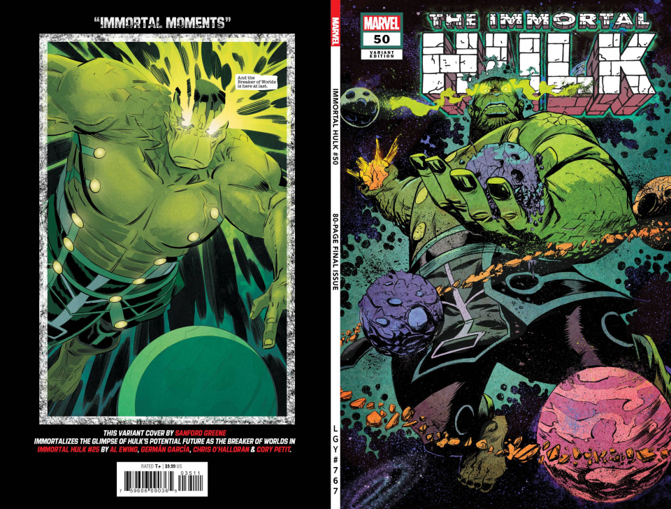 The Immortal Hulk #50 (Greene Cover)