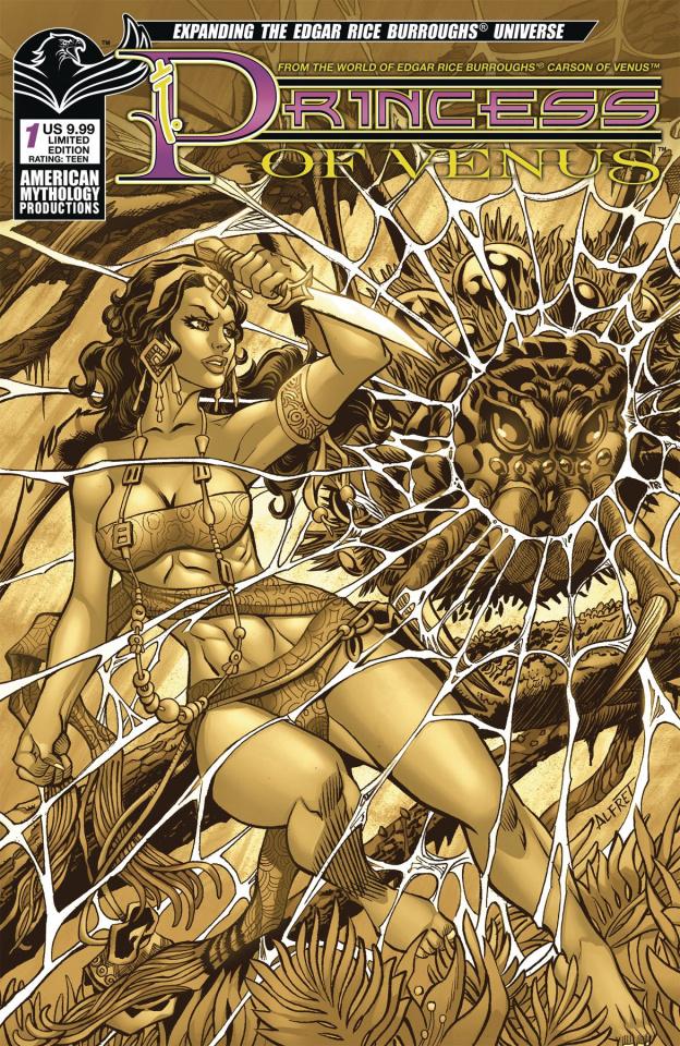 Princess of Venus #1 (Pulp Cover)