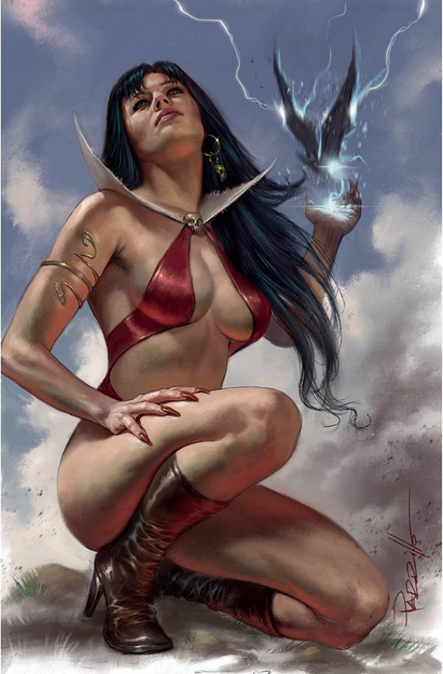 Vengeance of Vampirella #17 (Parrillo Virgin Cover)