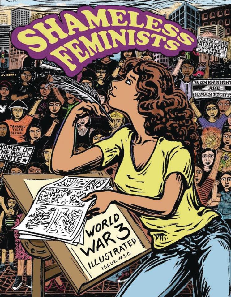 World War 3 Illustrated #50: Shameless Feminists