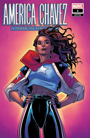America Chavez: Made in the U.S.A. #1 (Torque Cover)