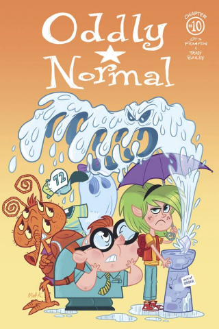 Oddly Normal #10 (Kaufenberg Cover)