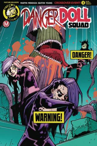 Danger Doll Squad #3 (Maccagni Risque Cover)