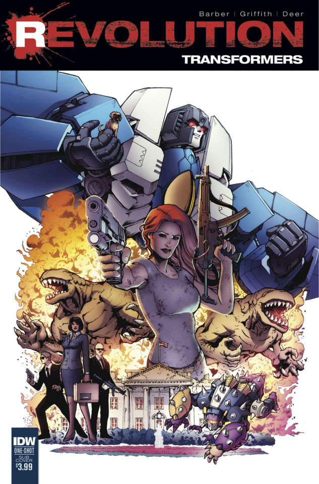 Transformers: Revolution #1 (Subscription Cover)