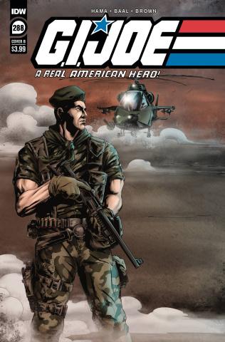 G.I. Joe: A Real American Hero #288 (Baal Cover)