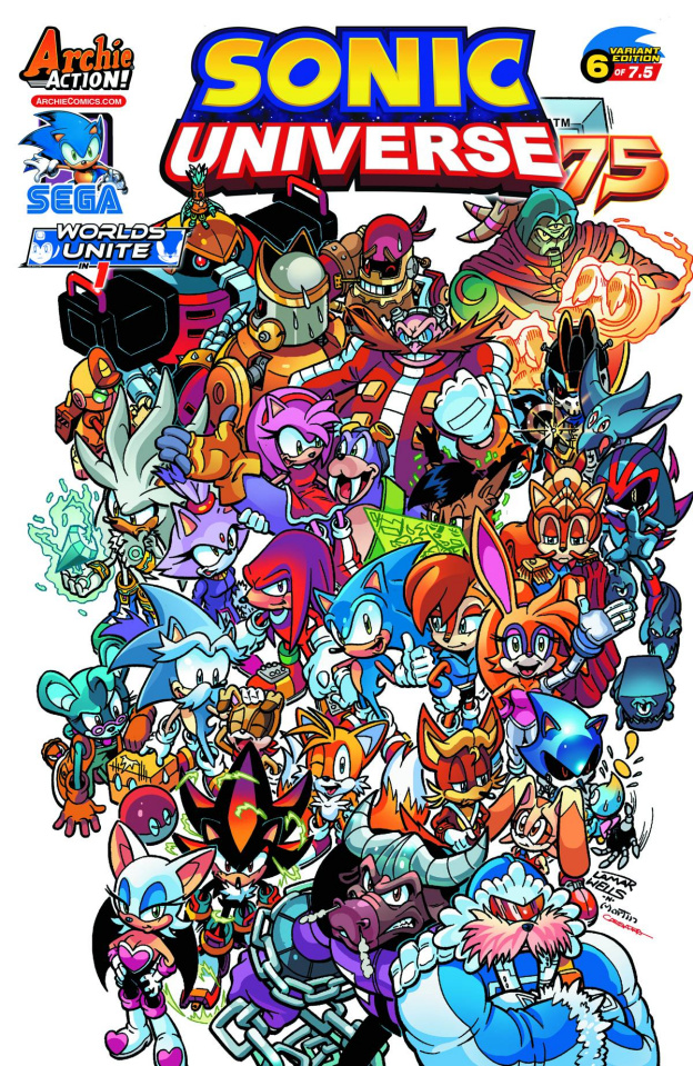 Sonic Universe #75 (Lamar Wells Cover)