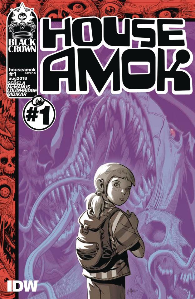 House Amok #1 (McManus Cover)