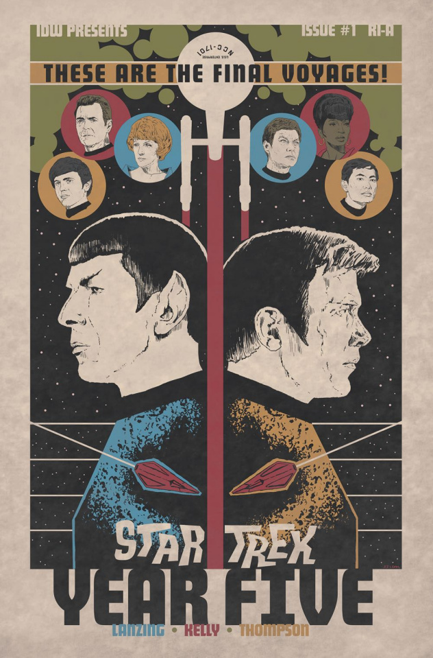 Star Trek: Year Five #1 (10 Copy Lendl Cover)