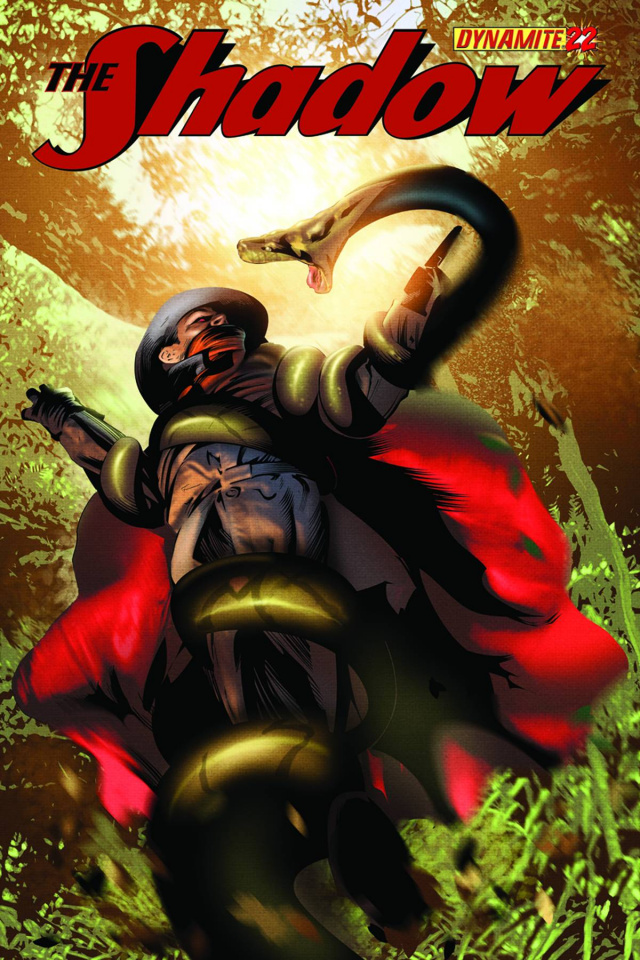 The Shadow #22 (Calero Cover)