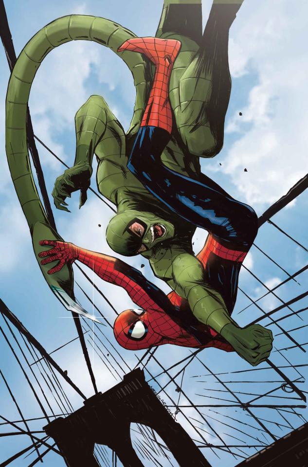Avengers #17 (Garbett Spider-Man Villains Cover)