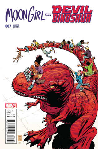 Moon Girl and Devil Dinosaur #7 (Brigman Classic Cover)