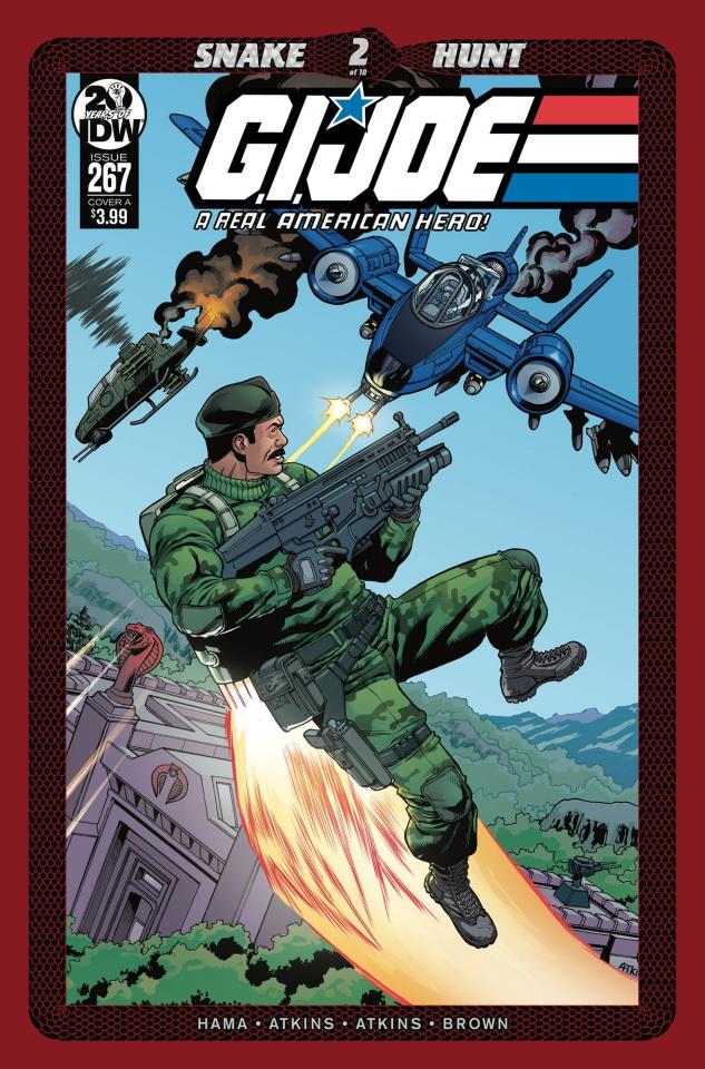 G.I. Joe: A Real American Hero #267 (Atkins Cover)