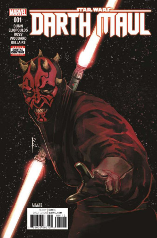 Star Wars: Darth Maul #1 (Reis 2nd Printing)