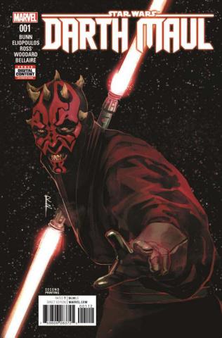 Star Wars: Darth Maul #1 (Reis 2nd Printing)