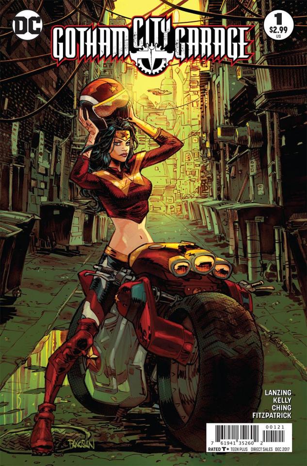 Gotham City Garage #1 (Variant Cover)