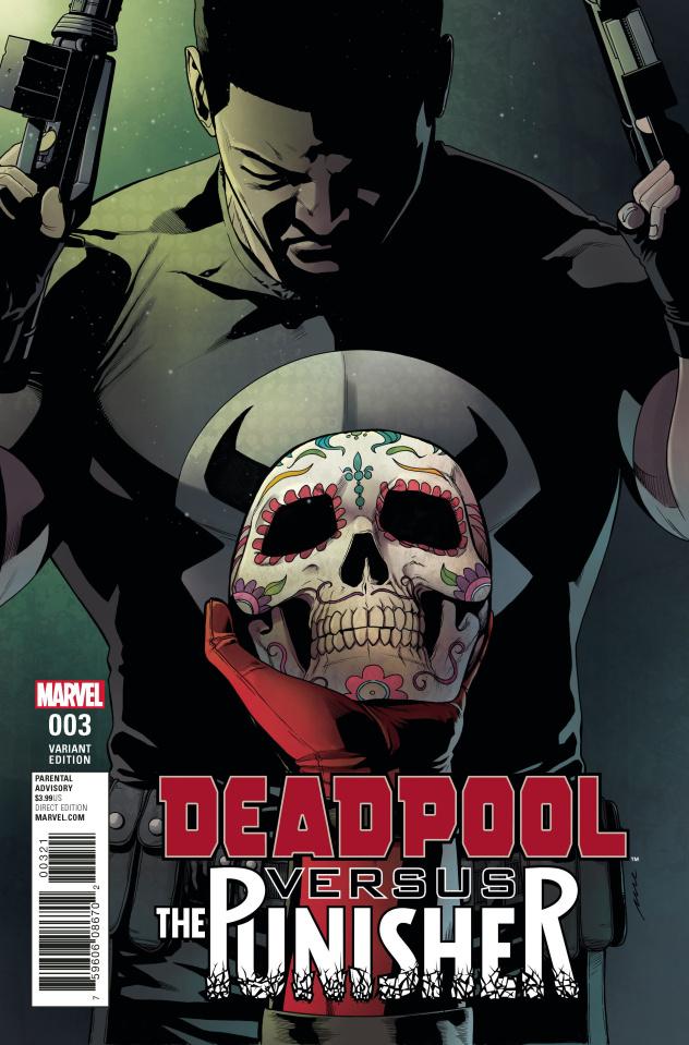 Deadpool vs. The Punisher #3 (Perez Cover)