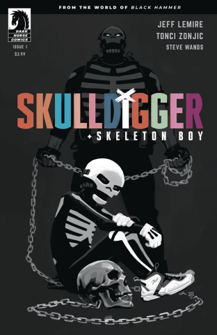 Skulldigger + Skeleton Boy #1 (Zonjic Cover)