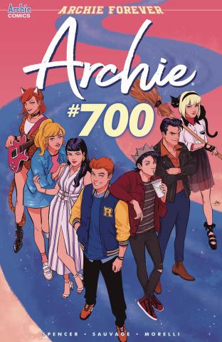 Archie #700 (Mok Cover)