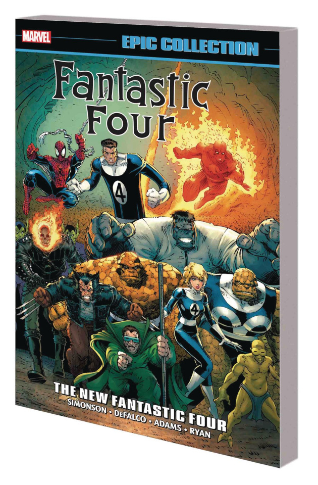 Fantastic Four: The New Fantastic Four (Epic Collection)