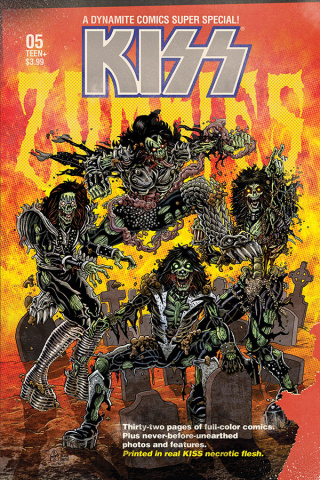 KISS: Zombies #5 (Haeser Bonus Cover)