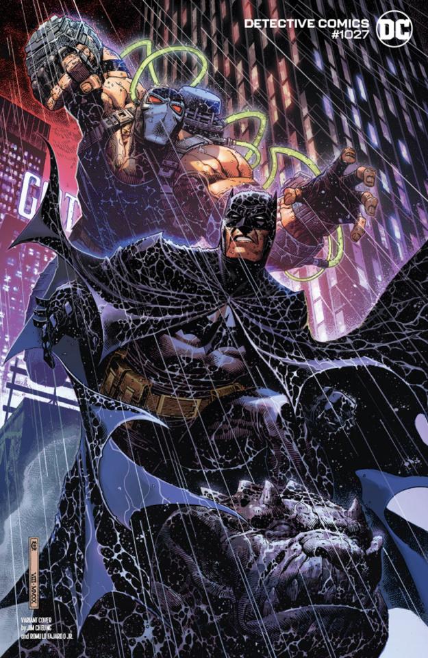Detective Comics #1027 (Jim Cheung Batman Bane Cover)