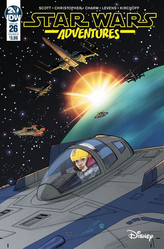 Star Wars Adventures #26 (Levens Cover)