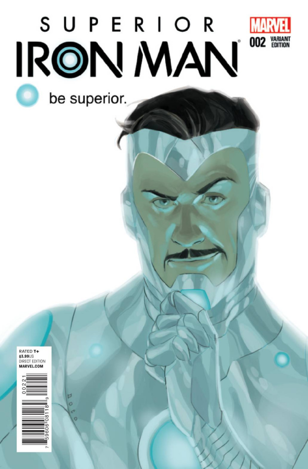 Superior Iron Man #2 (Noto Cover)