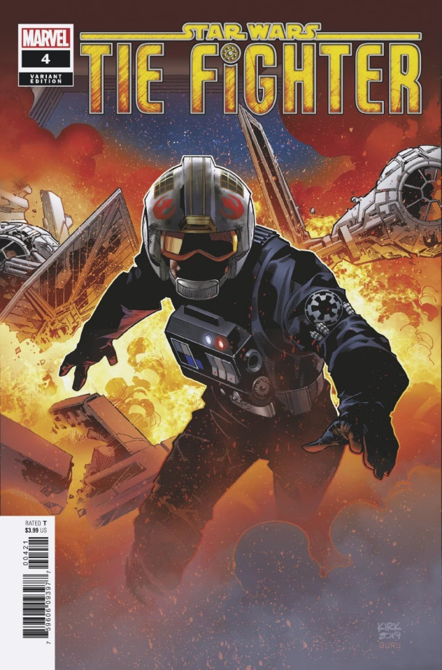 Star Wars: TIE Fighter #4 (Kirk Cover)