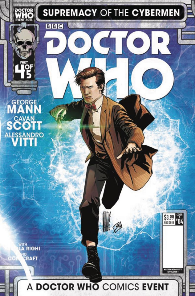 Doctor Who: Supremacy of the Cybermen #4 (Vitti Cover)