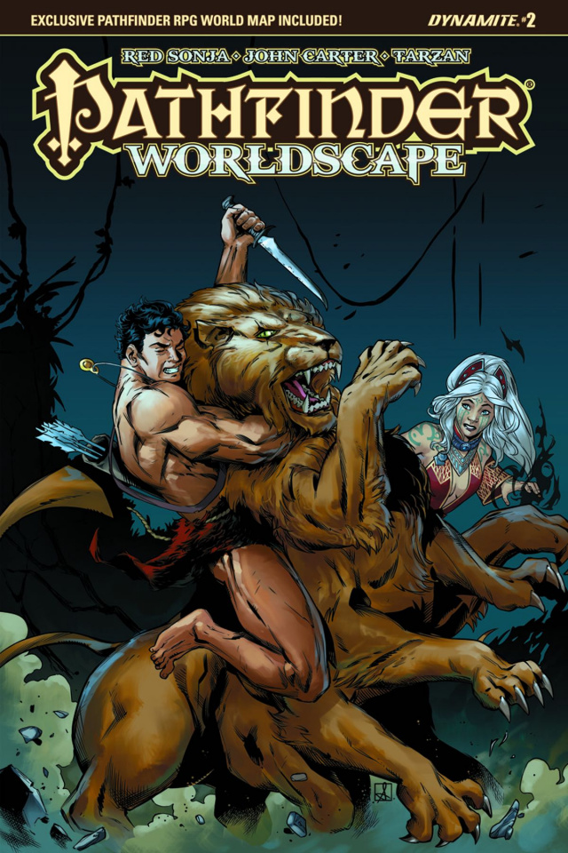 Pathfinder: Worldscape #2 (Subscription Cover)