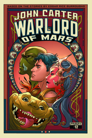 John Carter: Warlord of Mars #12 (Lupacchino Cover)