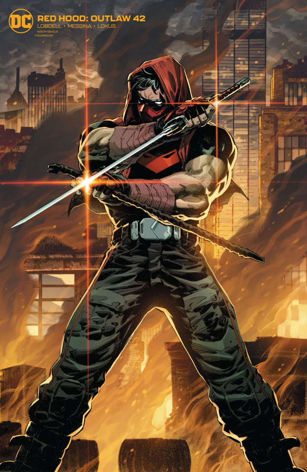 Red Hood: Outlaw #42 (Variant Cover)
