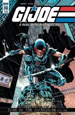 G.I. Joe: A Real American Hero #246 (Royle Cover)