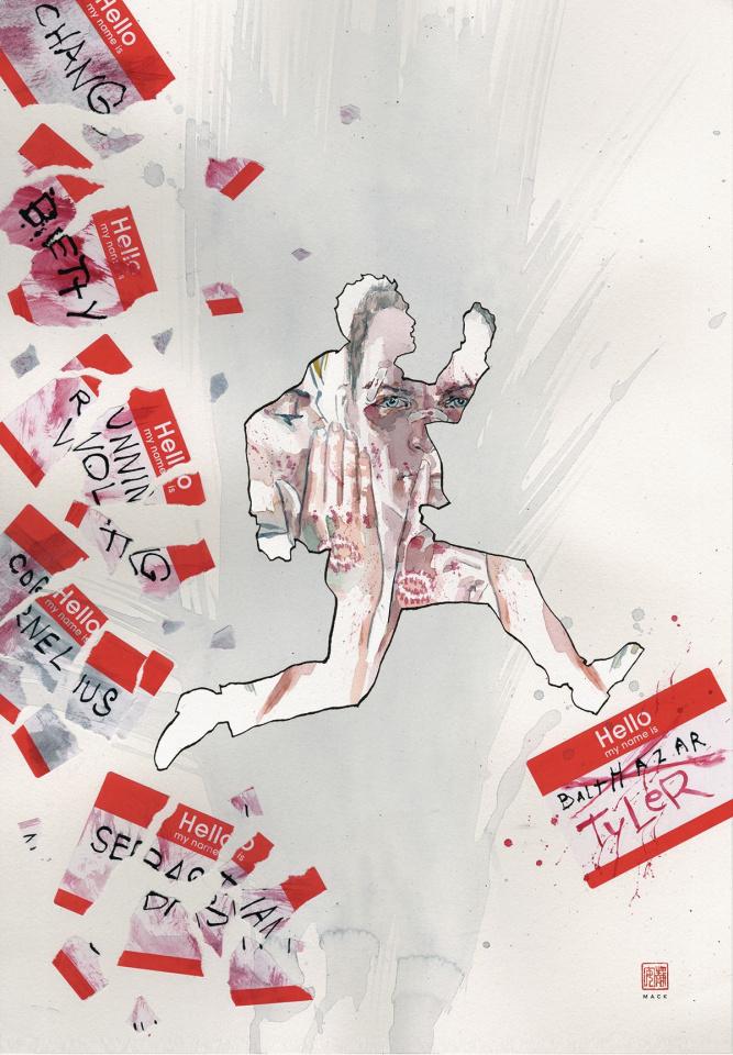 Fight Club 3 #1 (Mack Cover)