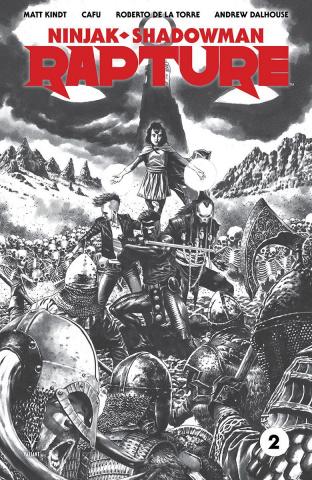 Rapture #2 (50 Copy B/W Sketch Suayan Cover)