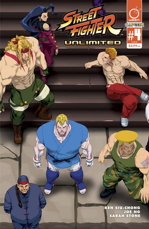 Street Fighter Unlimited #4 (Cruz Ultra Jam Cover)