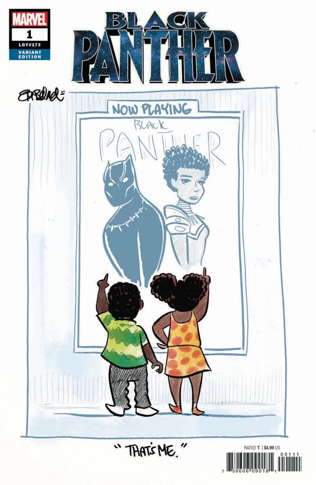 Black Panther #1 (Beland Cover)