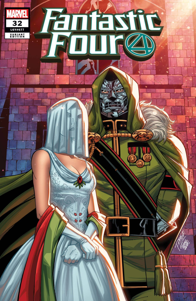Fantastic Four #32 (Ron Lim Cover)
